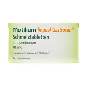 Motilium lingual Gastrosan