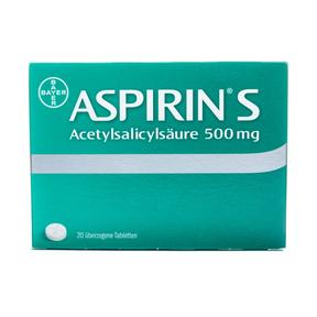Aspirin S überzogene Tabletten 500 mg