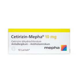Cetirizin Mepha 10Lactab