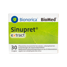 Sinupret extract Dragées