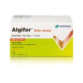 Algifor Dolo Junior Suspension 150mg / 7,5 ml