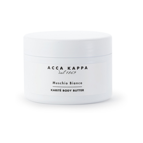 White Moss Karité Body Butter