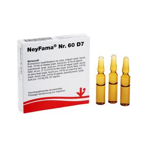 vitOrgan NeyFama Nr. 60 D7 Ampullen