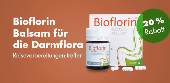 20 %  Rabatt auf Bioflorin