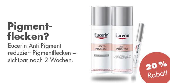 20 % auf Eucerin Anti-Pigment