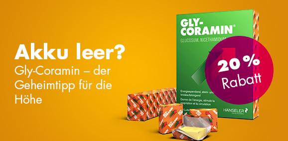 20 % Rabatt Gly-Coramin