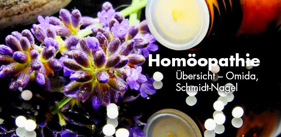Homöopathie-Produkte Übersicht