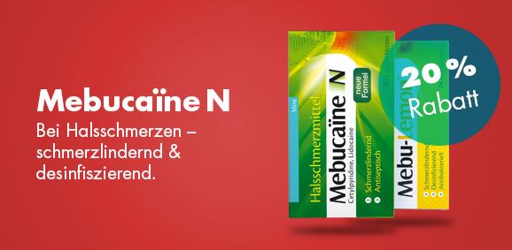 20 % Rabatt auf Mebucaine