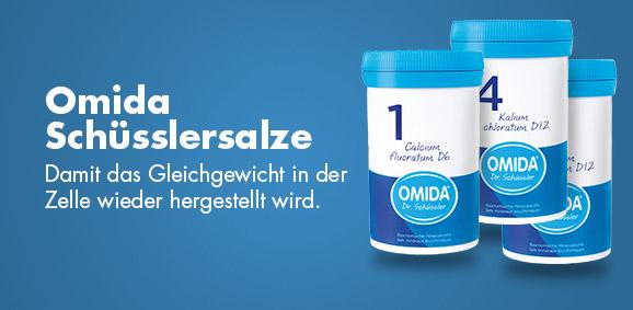 Schüsslersalze von Omida