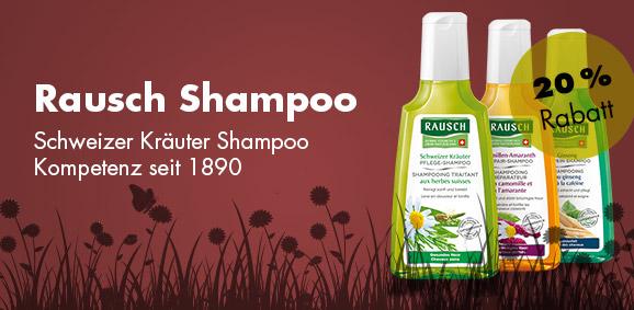 20 % Rabatt auf Rausch Shampoo