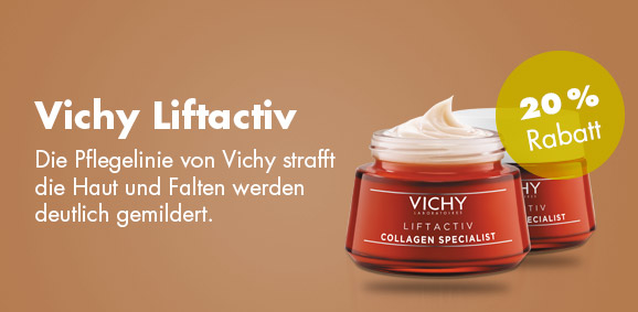 20 % Rabatt auf  Vichy Liftactiv